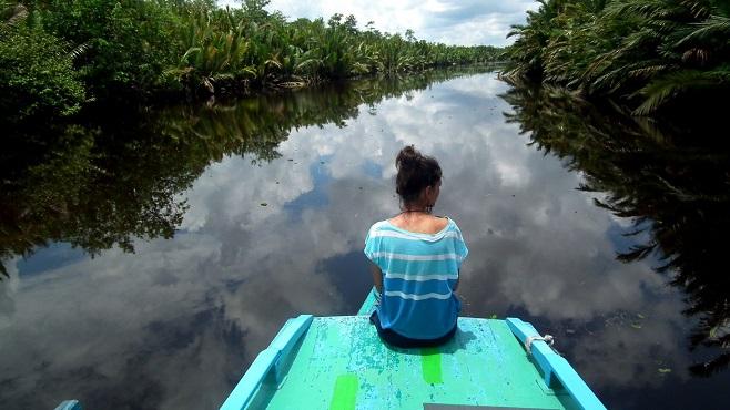 """""""V Indonésii se každá nemoc nejdříve vyřeší v hlavě,"""" říká Anička."""